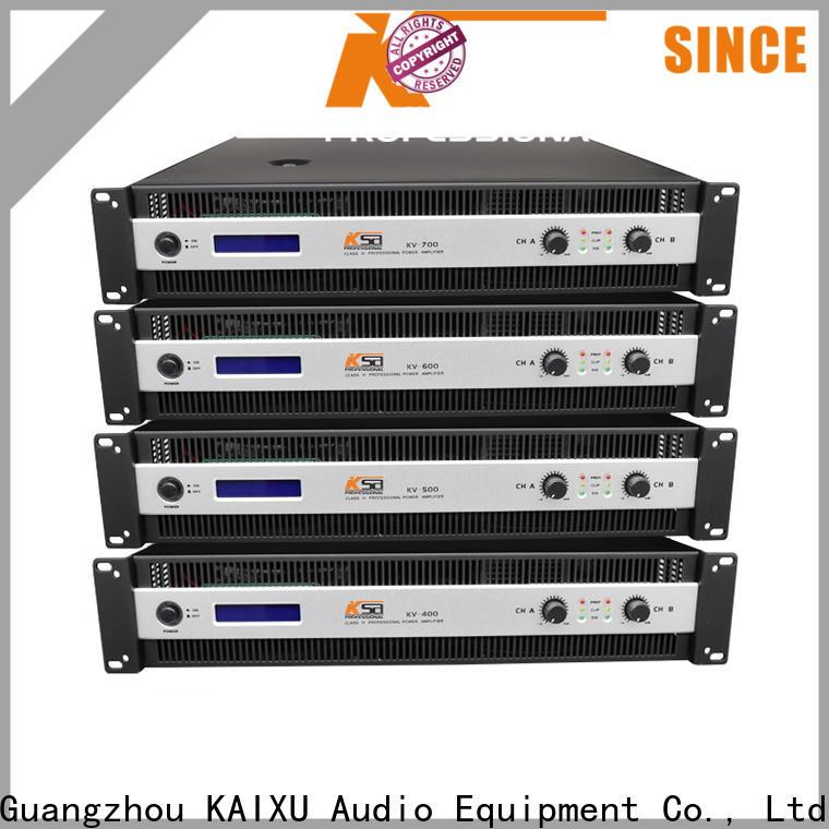 KSA lightweight power amp with good price