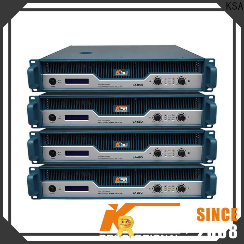 stable stereo power amplifier supplier for bar