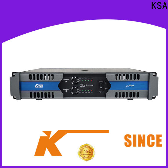 KSA studio power amplifier factory direct supply bulk production