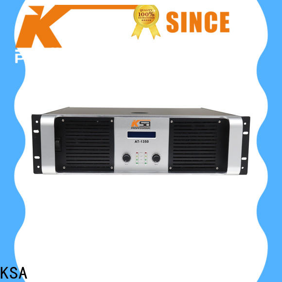 KSA 2 channel power amplifier home stereo factory direct supply bulk production