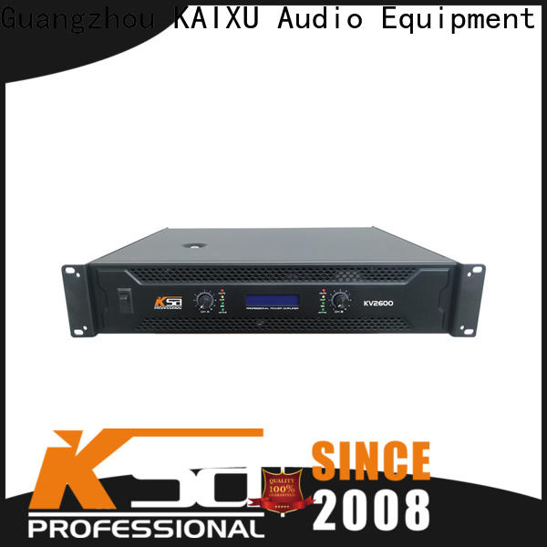 KSA the best power amp company for speaker