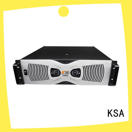 KSA audio power amplifier factory for multimedia