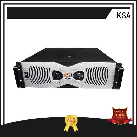 KSA channel class e power amplifier strong for classroom