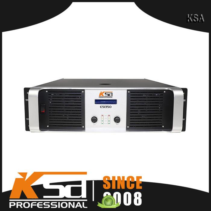KSA transistor home theatre amplifier for classroom