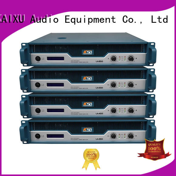 LA series 2channel professional audio power amplifier manufacture from china