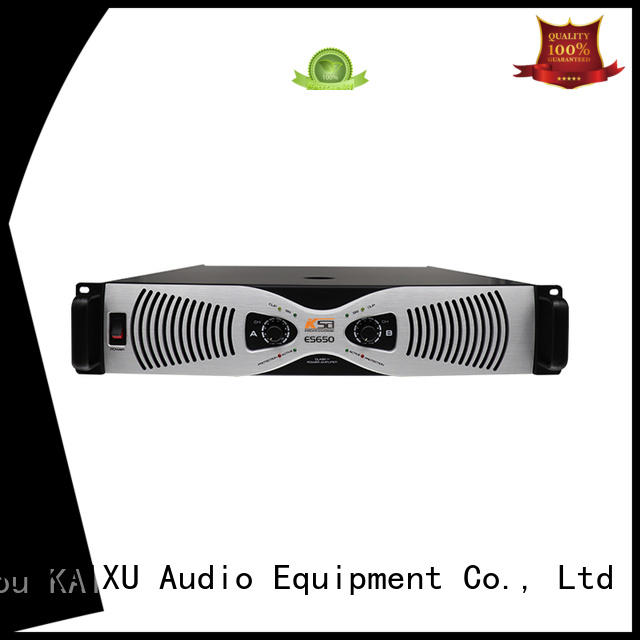 KaiXu effiency home power amplifier high quality for multimedia
