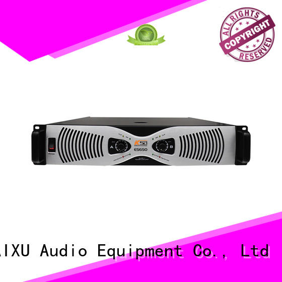 performance high power audio amplifier for lcd