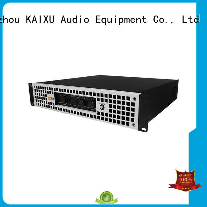 KaiXu professional stereo audio power amplifier room for night club