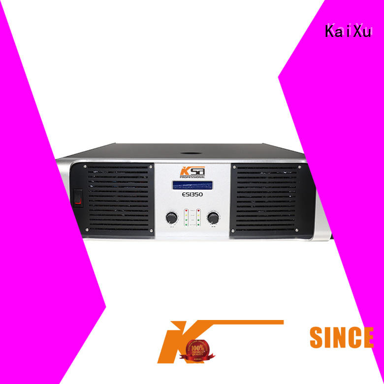 KaiXu power stereo amplifier cheapest price for classroom