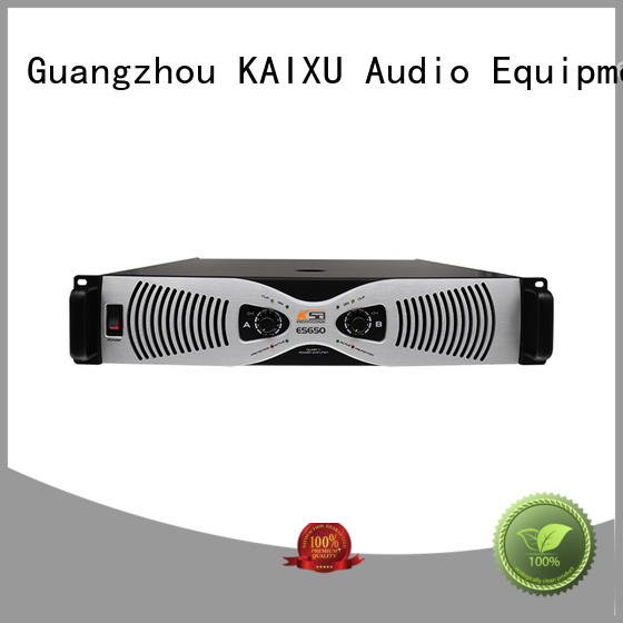 KaiXu analog home power amplifier professional for stage