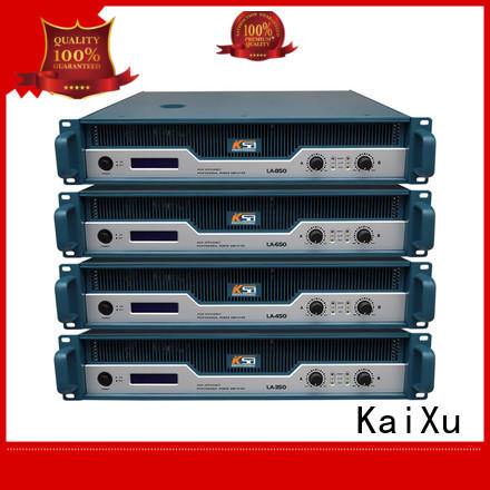 KaiXu professional stereo power amplifier energy-saving for bar