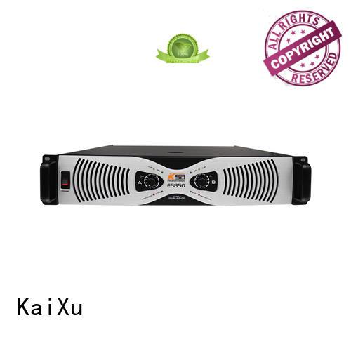 8ohms live power amplifier high quality for classroom KaiXu