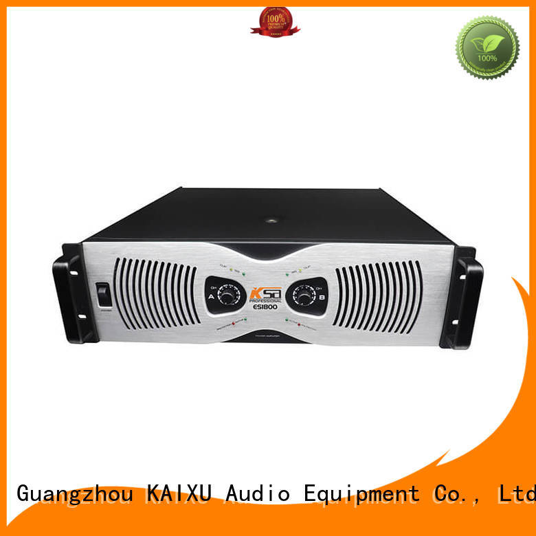 ksa 2 channel power amplifier home stereo professional for speaker KaiXu
