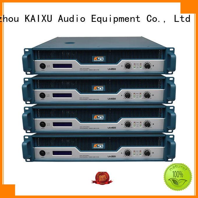Custom karaoke stereo power amplifier equipment KaiXu