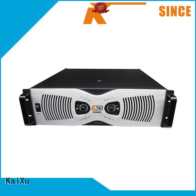 KSA factory 3U ES1800W best power amplifier made in china