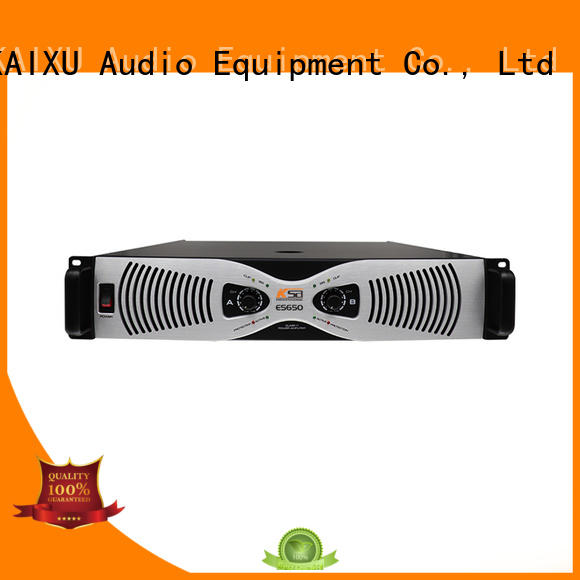 KaiXu audio transistor power amplifier custom made for multimedia
