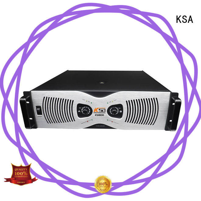 KSA professional best dj amplifier manufacturer bulk buy
