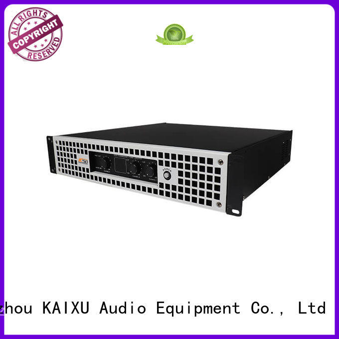 performance best 2 channel power amplifier subwoofer KaiXu