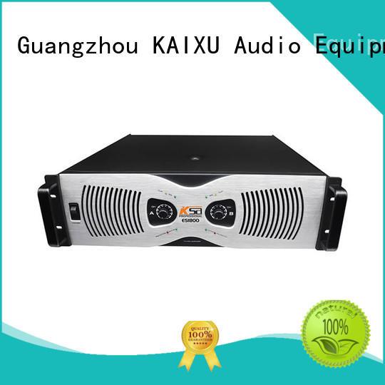 KSA audio power amplifier for multimedia