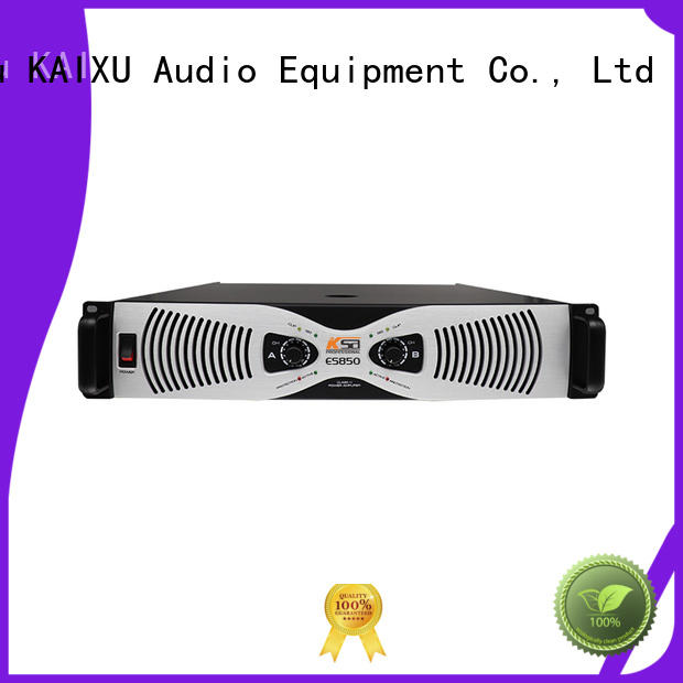 KSA stereo amplifier from China for stage