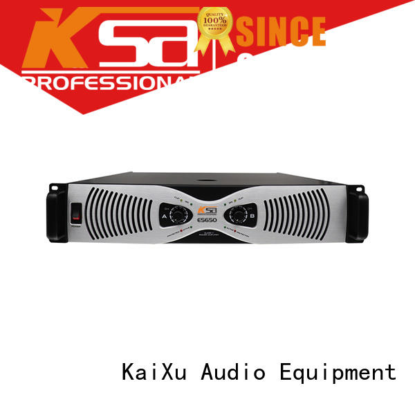 KSA analog home theatre amplifier strong for multimedia