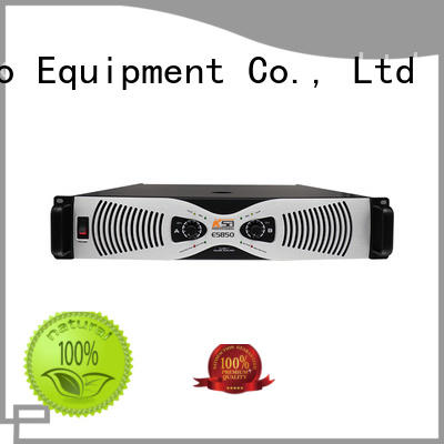 High effiency class H circuit ES850W power amplifier for Multi-Media classroom