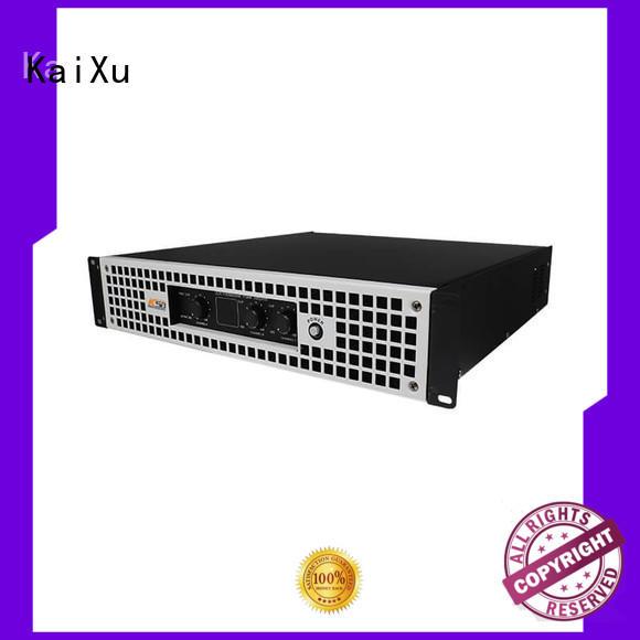 professional best 2 channel power amplifier performance for speaker KaiXu
