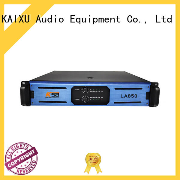KSA popular home stereo power amplifier manufacturer for night club