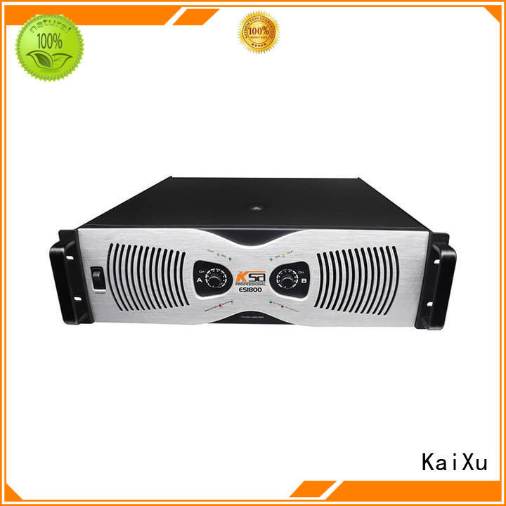 professional speaker amplifier performance multimedia KaiXu