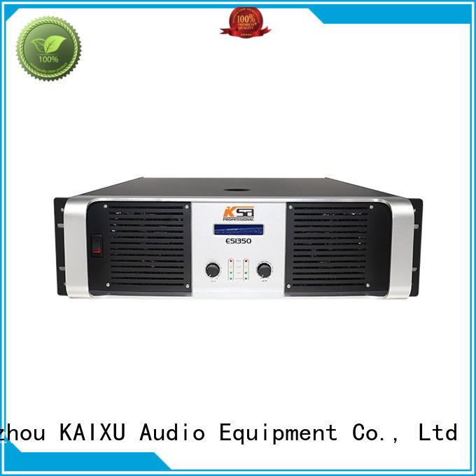KaiXu stereo 2 channel power amplifier home stereo strong for classroom