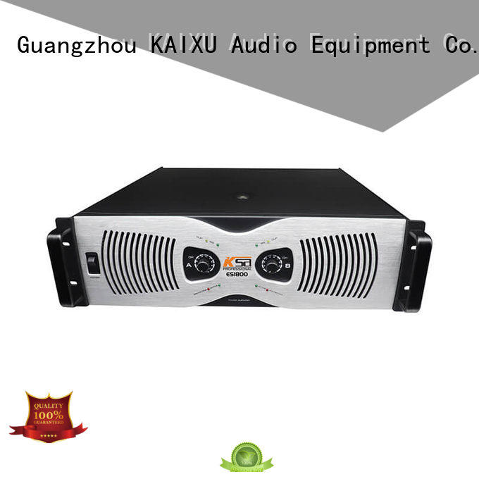 professional audio amplifier lcd stereo multimedia KaiXu Brand
