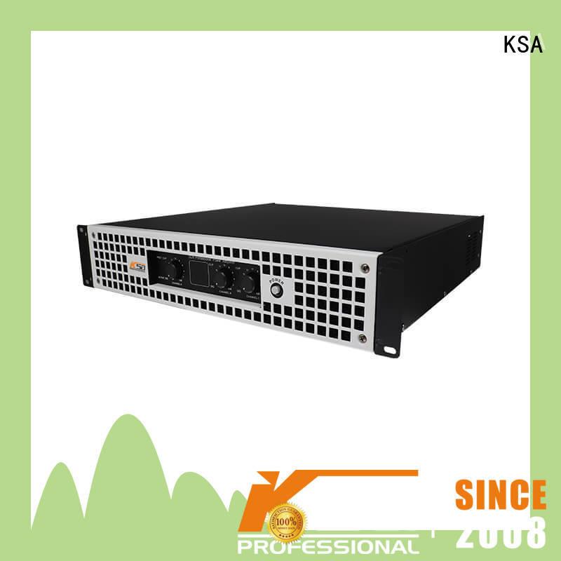 KSA power precision amp for night club