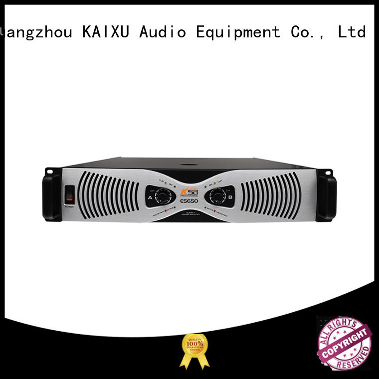 professional audio amplifier custom made for speaker KaiXu