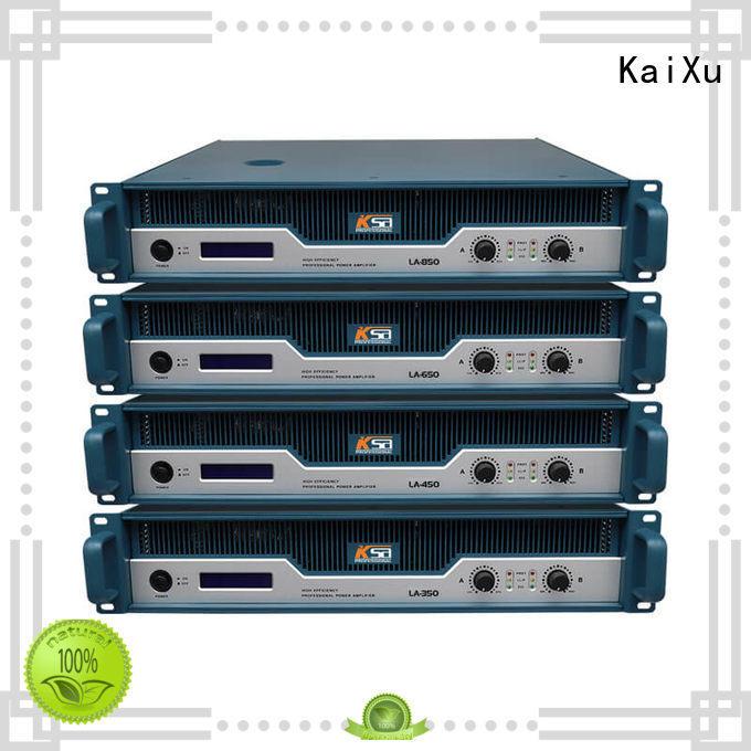 KaiXu high-quality studio power amplifier energy-saving for transformer
