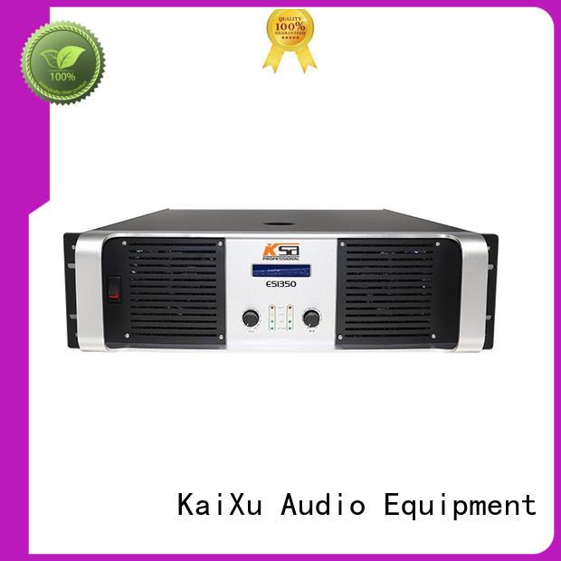 KSA speaker amplifier for stage