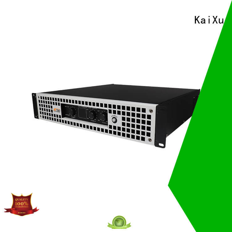 Stabile performance H class 3 channels professional amplifier for KTV room
