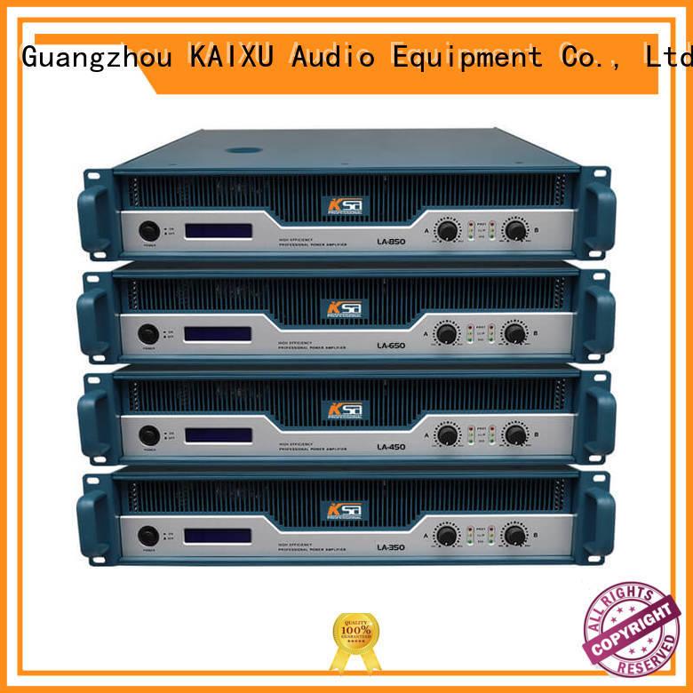 KSA studio amplifier class series outdoor audio