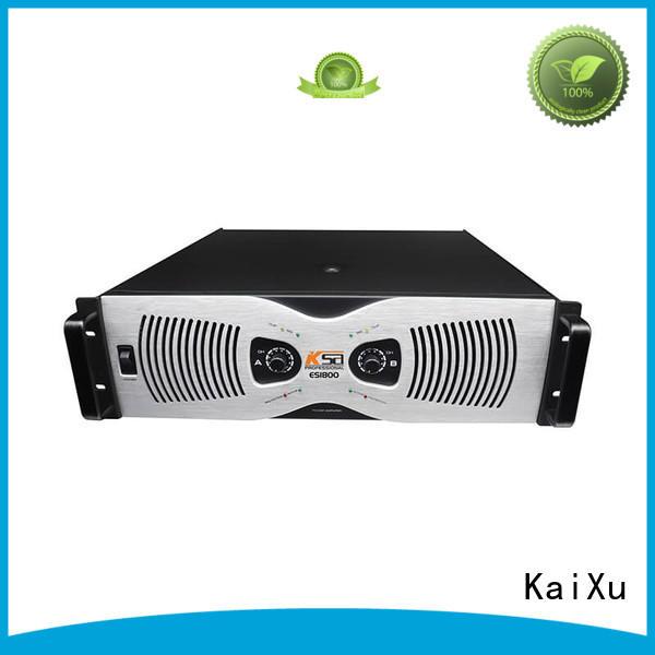 KaiXu Brand effiency price power transistor amplifier manufacture