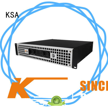 KSA high quality class h amplifier series for club