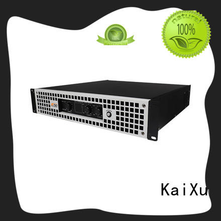 KaiXu stable best 2 channel power amplifier ktv
