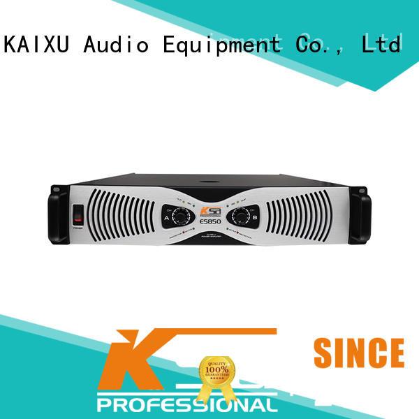 KSA 8ohms best dj amplifier for multimedia