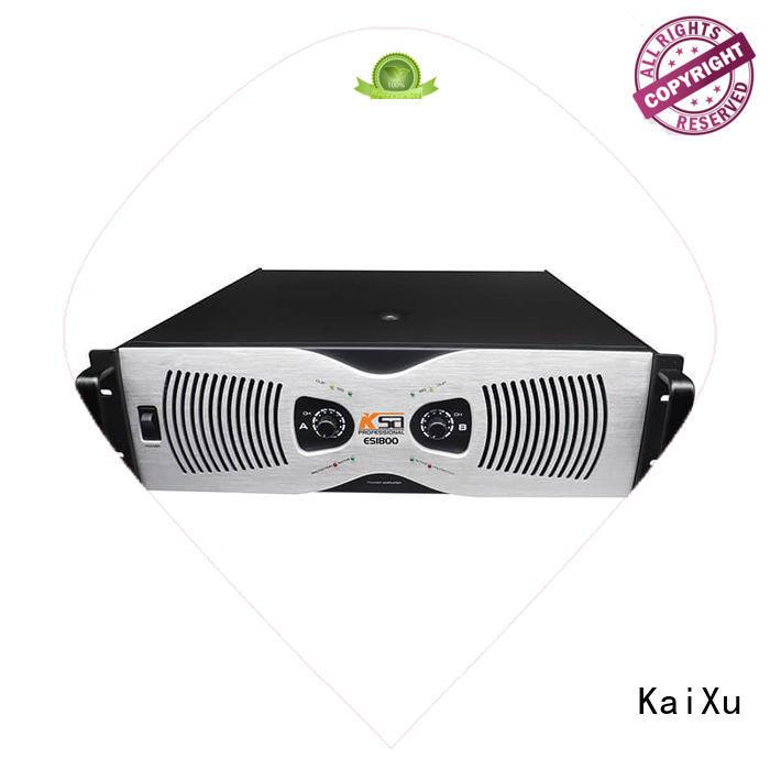 KaiXu 8ohms cheap power amplifier professional for classroom