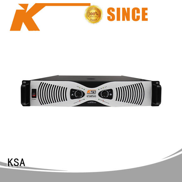 KSA audio power amplifier high quality for lcd