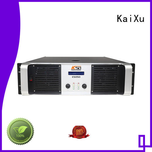 Custom price performance transistor amplifier KaiXu channel