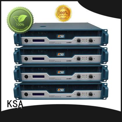 KSA stereo power amplifier wholesale for speaker