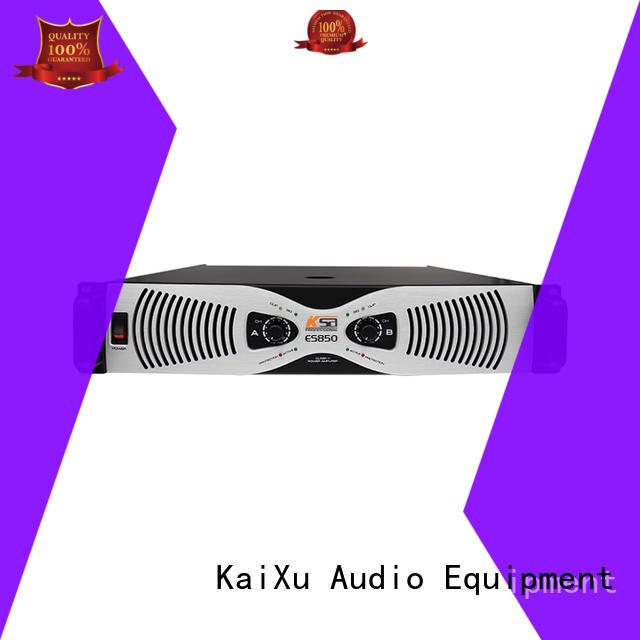 KSA performance high power amplifier for multimedia