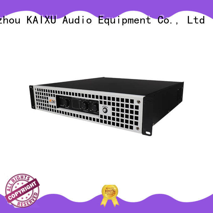 KaiXu professional best pro audio amplifiers for night club