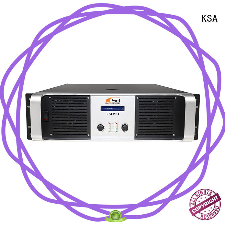 KSA energy-saving stereo amplifier manufacturer bulk production