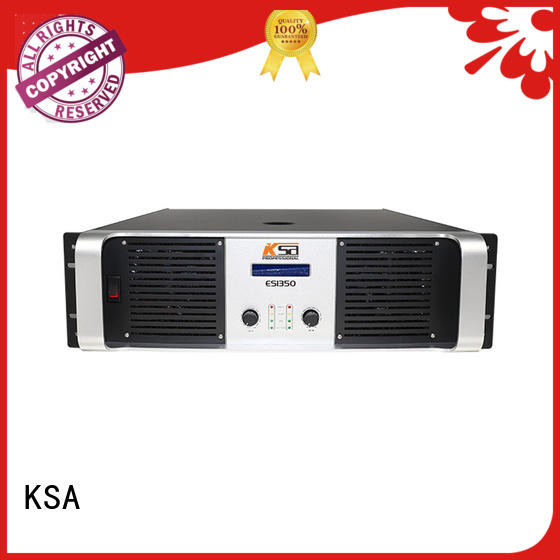 KSA stereo best dj amplifier strong for classroom