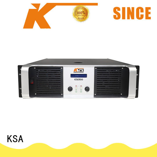KSA audio power amplifier manufacturer for multimedia
